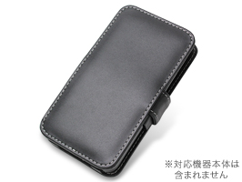PDAIR レザーケース for GALAXY S II WiMAX ISW11SC 横開きタイプ