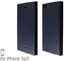 GRAMAS LC614 One-Sheet Leather Case for iPhone 5s/5