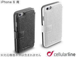 cellularline Book Agenda 手帳型 レザーケース for iPhone 6