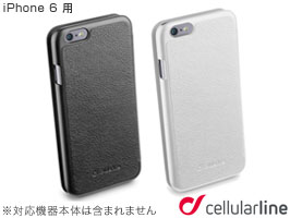 cellularline Book Essential レザー 手帳型ケース for iPhone 6