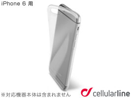 cellularline Fine クリア 薄ケース for iPhone 6