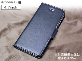 PDAIR レザーケース for iPhone 6 横開きタイプ