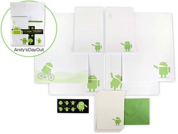 Android Foundry Stationery set