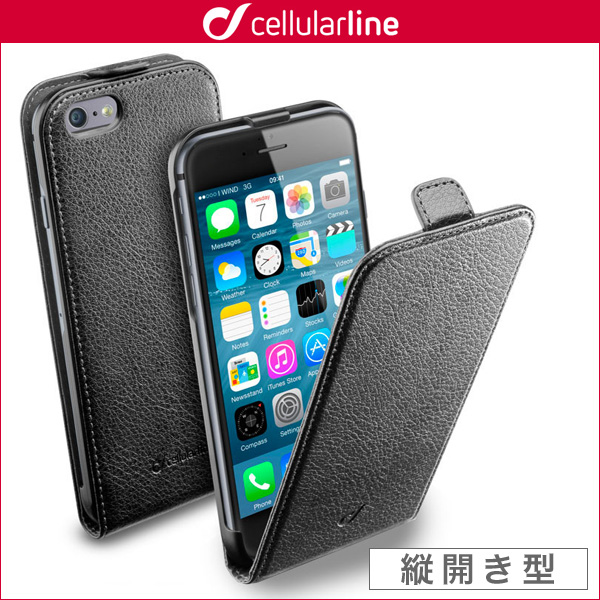 cellularline Flap Essential 縦開き型ケース for iPhone 7