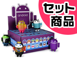 Android Robot フィギュア mini collectible series 06(1箱16個入り)
