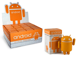 Android Robot フィギュア mini collectible standard edition orange(1箱16個入り)