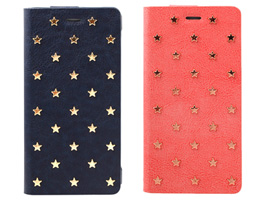 SWEET LABEL Baby Stars Leather Case for iPhone 6s/6