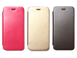 Zenus Diana Flip Case Diary 背面クリア for iPhone 6s/6