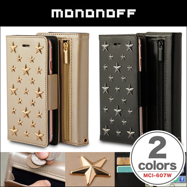 mononoff 607W Star's Case Wallet for iPhone 6s / 6