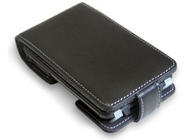 PDAIR Leather Case for CLIE TH55 縦開きタイプ
