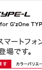 PDAIRレザーケース for G'zOne TYPE-L CAL21