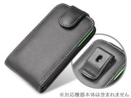 dd4d18acf1 PDAIR レザーケース for iPhone 4S/4 with Bumper ベルトクリップ付バーティカルポーチタイプ