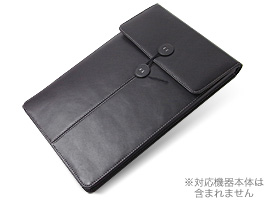 PDAIR レザーケース for MacBook Air 11インチ(Early 2014/Mid 2013/Mid 2012/Mid 2011/Late 2010) バーティカルポーチタイプ