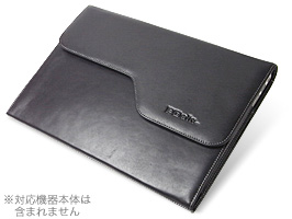 PDAIR レザーケース for MacBook Air 13インチ(Early 2014/Mid 2013/Mid 2012/Mid 2011/Late 2010) ポーチタイプ