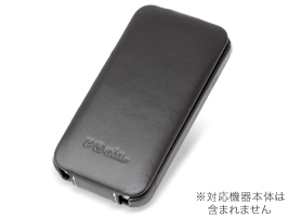 PDAIR レザーケース for iPhone 4S/4 縦開きタイプ ver.2
