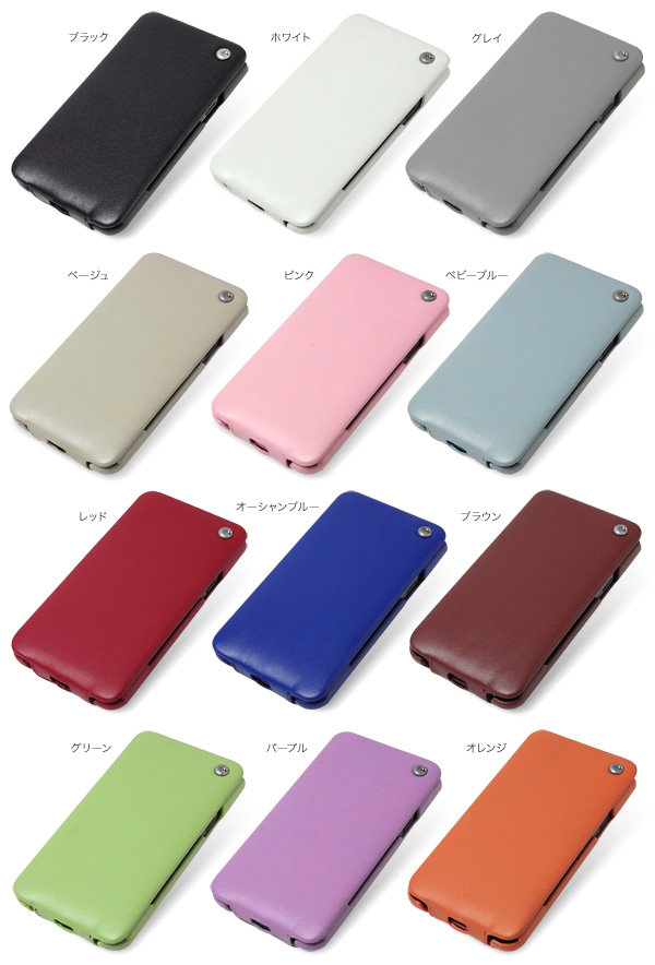 カラー Noreve Perpetual Selection レザーケース for GALAXY S II SC-02C