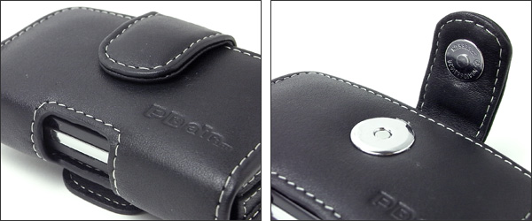 PDAIR レザーケース for Sony Ericsson mini (S51SE) ポーチタイプ