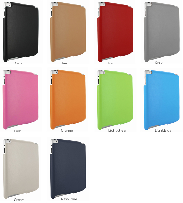 カラー Piel Frama iMagnum レザーケース for iPad 2 with iPad Smart Cover