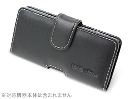 PDAIR レザーケース for Xperia AX SO-01E/Xperia VL SOL21 ポーチタイプ
