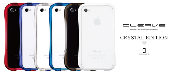 CLEAVE BUMPER for iPhone 4S/4 CRYSTAL EDITION