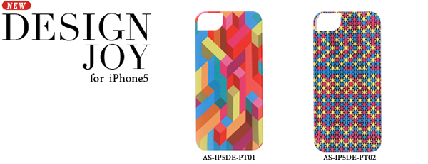 icover DESIGN JOY for iPhone 5