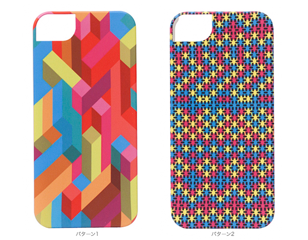 カラー icover DESIGN JOY for iPhone 5