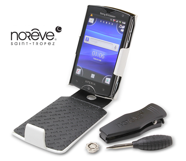Noreve Perpetual Selection レザーケース for Sony Ericsson mini (S51SE)