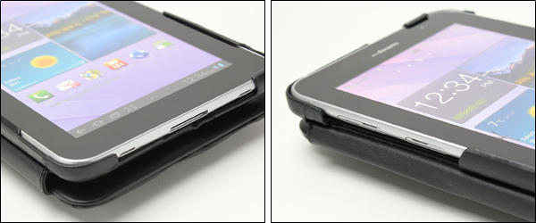 Noreve Perpetual Selection レザーケース for  GALAXY Tab 7.0 Plus SC-02D