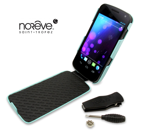 Noreve Perpetual Selection レザーケース for GALAXY NEXUS SC-04D