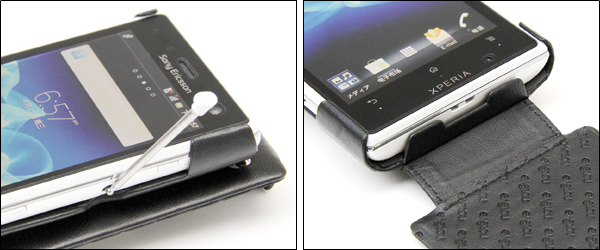Noreve Perpetual Selection レザーケース for Xperia acro HD SO-03D/IS12S
