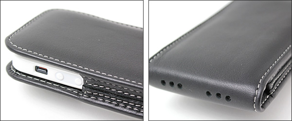 PDAIR レザーケース for iPhone 5 with Bumper バーティカルポーチタイプ