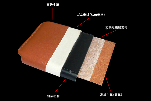 Piel Frama iMagnum Natural Cowskin レザーケース for GALAXY S III SC-06D