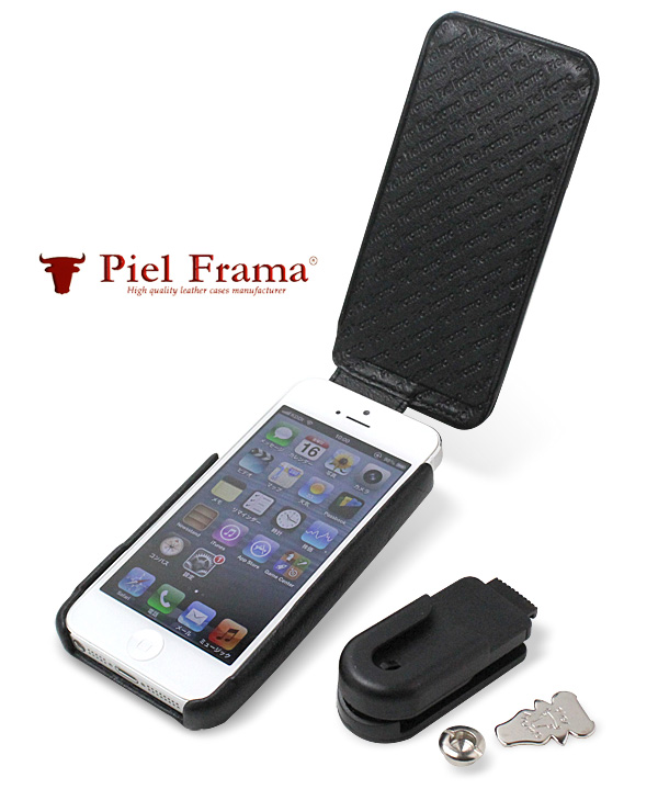 Piel Frama iMagnum Natural Cowskin レザーケース for iPhone 5(Crocodile)