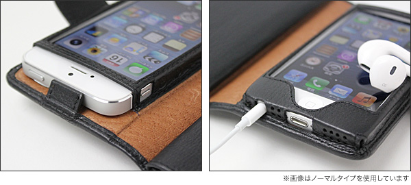 Piel Frama Natural Cowskin レザーケース(ウォレットタイプ) for iPhone 5