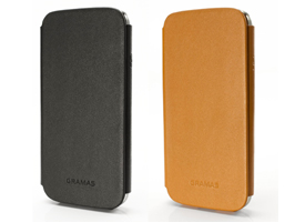 GRAMAS 433 Leather Case for GALAXY S4 SC-04E