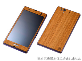 WOODEN PLATE for Xperia Z SO-02E