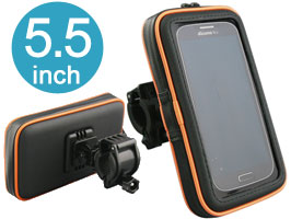 BICYCLE HOLDER for iPod/iPhone/スマートフォン5.5インチ