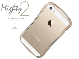 CLEAVE ALUMINUM BUMPER Mighty2 for iPhone 5s/5