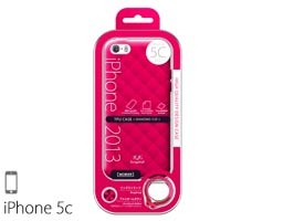 MOBIER TPUケース for iPhone 5c(ダイヤ)