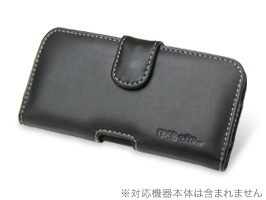 PDAIR レザーケース for HTC J butterfly HTL21 ポーチタイプ