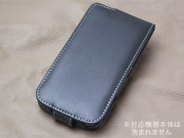 PDAIR レザーケース for GALAXY S4 SC-04E 縦開きタイプ