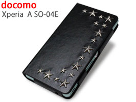 mononoff 138X Star's Case/スターズケース for Xperia (TM) A SO-04E(ブラック)