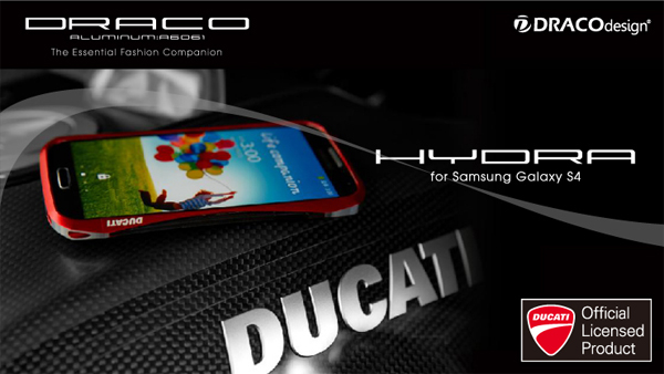 DRACO design HYDRA ALUMINUM BUMPER for GALAXY S4 SC-04E