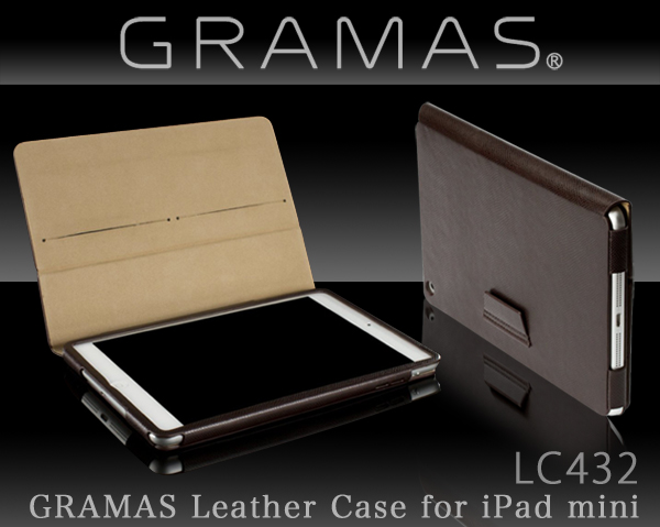 GRAMAS LC432 Leather Case for iPad mini