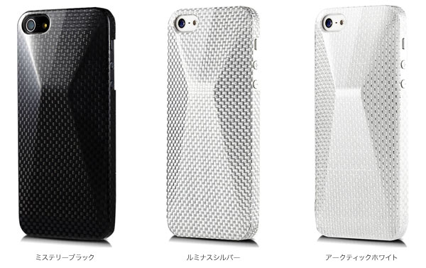 カラー monCarbone Peak iPhone 5 Case
