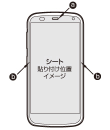 説明図 OverLay Brilliant for ARROWS A 301F