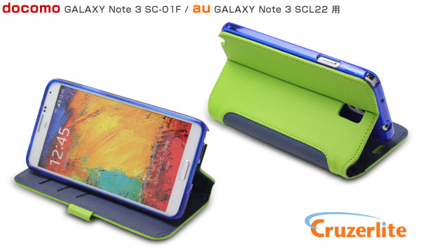 Cruzerlite Bugdroid Circuit Intelligent wallet for GALAXY Note 3 SC-01F/SCL22