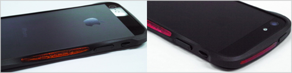 CLEAVE ALUMINIUM BUMPER Mighty for iPhone 5SCL21