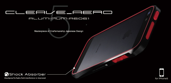 CLEAVE AERO ALUMINUM BUMPER for iPhone 5