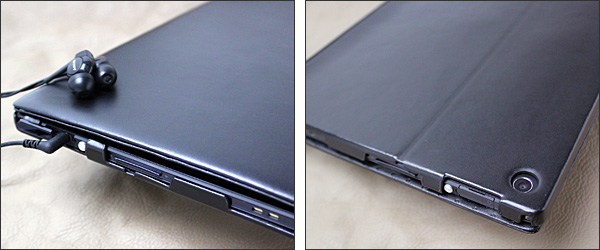 Noreve Perpetual Selection レザーケース for Xperia Tablet Z SO-03E